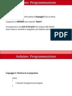 Programmazione Arduino