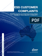 Process Customer Complaints Book 1