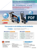 Portable Seawater Desalination Plant