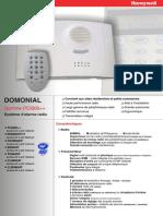 Systeme d Alarme Radio DOMONIAL PCI800