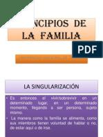 .....Principios de La Familia....Texto...Dr. .... 23 Junio... 2011