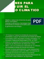 Acciones Para Disminuir El Cambio Climatico
