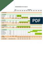 Cronograma financeiro etapa 01