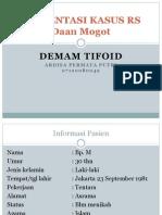 Kasus Tifoid Daan Mogot