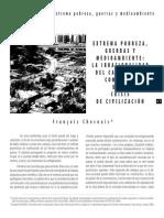 Chesnais - Extrema Pobreza, Guerras y Medioambiente