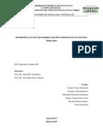 Relatório Extração Líquido-Líquido