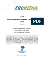 D5.1.6 Second Open Call Ethics Review Report v1.0
