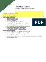 Data Team Fishbowl Readiness Document