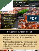 Psikologi Sosial -Sosial Kognisi