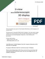 Dodgson - Stanford Workshop on 3D Imaging