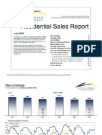 Austin Real Estate Market Statistics for July 2009
