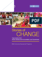 Stories of Change:Case stories from Active Citizens and Accountable Local Government