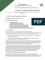 UN - Towards Sustainable Development