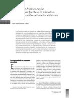 h) El SME frente a la iniciativa de privatización del sector energético (2003) El Cotidiano, UAM.