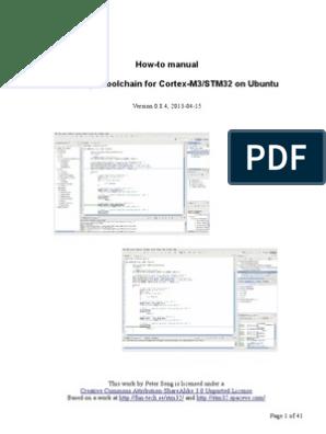 HowTo ToolChain STM32 Ubuntu | Library (Computing