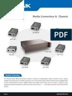 TP-Link Media Converter Datasheet