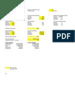Excel Spreadsheet for Analytics_company b
