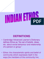 Indian Ethos Intro - 2003