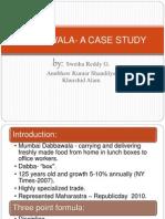 Case Study - Dabbawalas