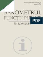barometru functiei publice