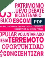 GUIA DE RECUPERACION Y REUTLIZACION DE ESCOMBROS SIMBOLICOS EN EL ESPACIO PUBLICO.pdf