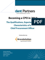 Becoming a CPO in 2014