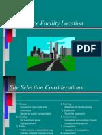 Chap 6 Facility Location