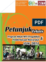 Panduan Hibah Miti p2m 2014