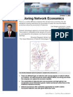 Exploring Network Economics
