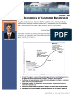 The Economics of Customer Businesses