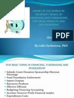 L. Varbanova - Session I_Basics of Fundraising and Financing Culture