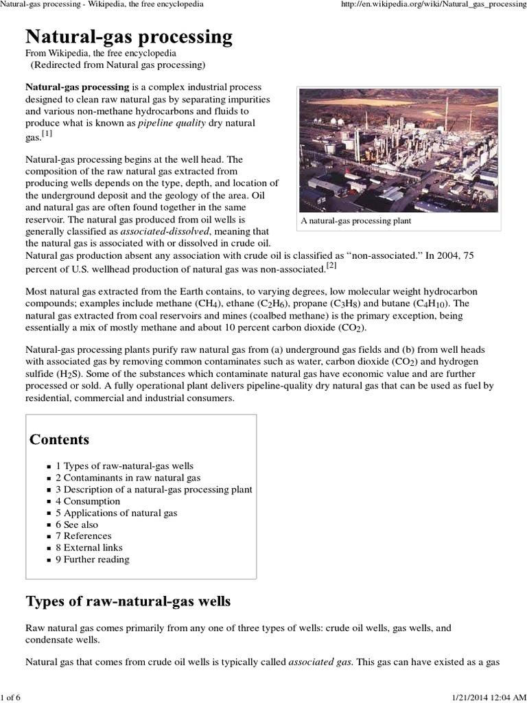 Natural-gas processing - Wikipedia, the free encyclopedia pdf
