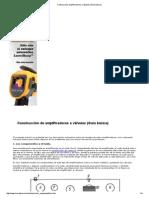 Construcción amplificadores a válvulas (Guía básica)