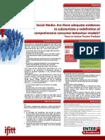 Social media and consumer behaviour