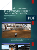 Recorriendo Una Marca en Centros Comerciales y Tiendas de Second Life