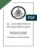 194435763 the Sadhana of Buddha Akshobhya
