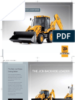 JCB Backhoe Loader Brochure