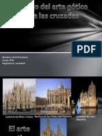 Arte Gotico y Las Cruzadas