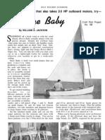 Breeze Baby Sailboat Plans