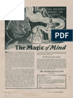 AMORC - The Magic of Mind (Ad 1952)