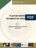 Plan de Gestion de Obras de Terceros