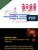 Askep Shock Hipovolemik