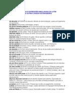 Palavras e Expressões Mais Usadas no Latim