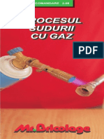 Procesul Sudurii Cu Gaz