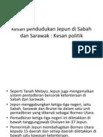 Kesan Pendudukan Jepun Di Sabah Dan Sarawak