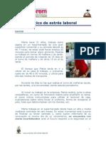 CASO PRÁCTICO DE ESTRÉS LABORAL