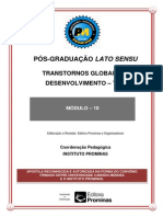 TRANSTORNOS GLOBAIS DO DESENVOLVIMENTO MÓDULO 10