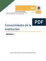 Modulo 1 Conocimiento de La Institucion