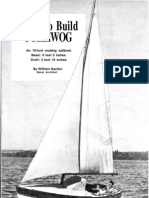 Polliwog Sailboat Plans