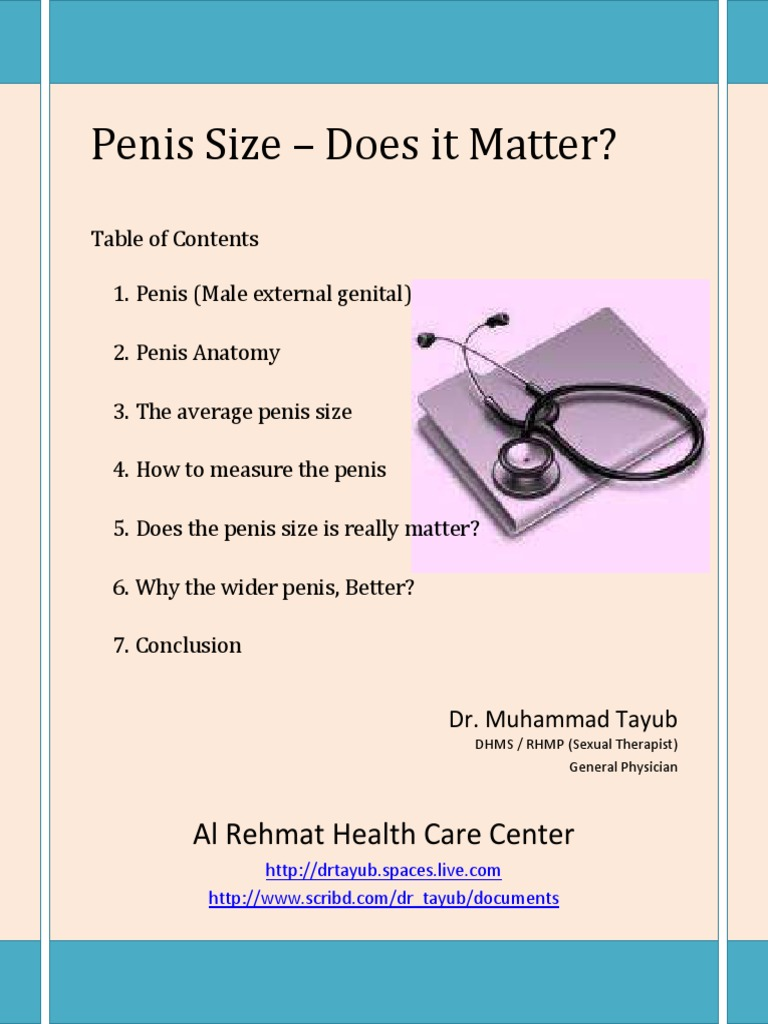 Penis Size - Does It Matter ?   Clitoris   Vagina